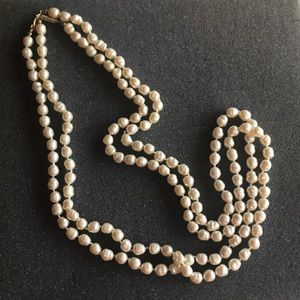 "Jewelry - Faux  baroque pearls 14"" each. 2 strands"